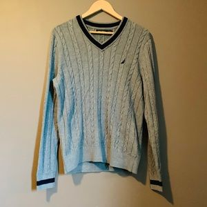 NWT Nautical cable knit sweater
